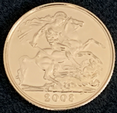 2008 Full Gold Sovereign in a  Luxury Wooden Case